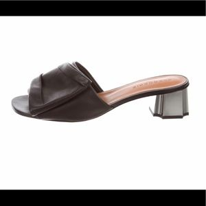 Robert Clergerie Leather Mule